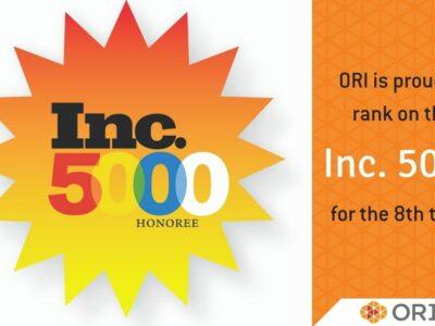 ORI Named to 2017 Inc. 5000 List