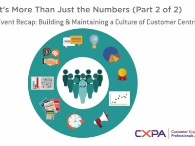 Customer Experience: Building & Maintaining a Culture of Customer Centricity