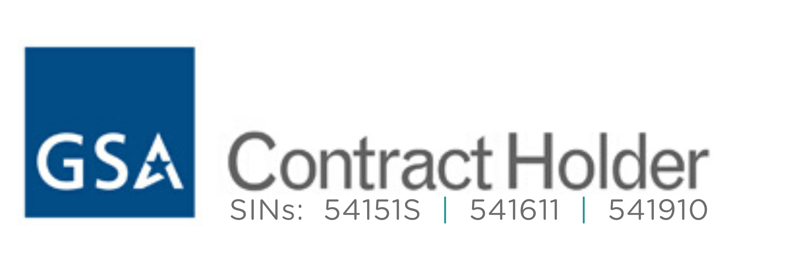 GSA Schedule Contract Holder SINs