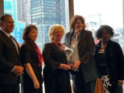 ORI CEO Kathy Benson Named Co-Winner of 2018 WPEO-DC President's Award