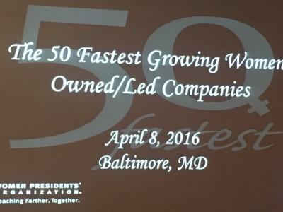ORI ranks on WPO's 50 Fastest list